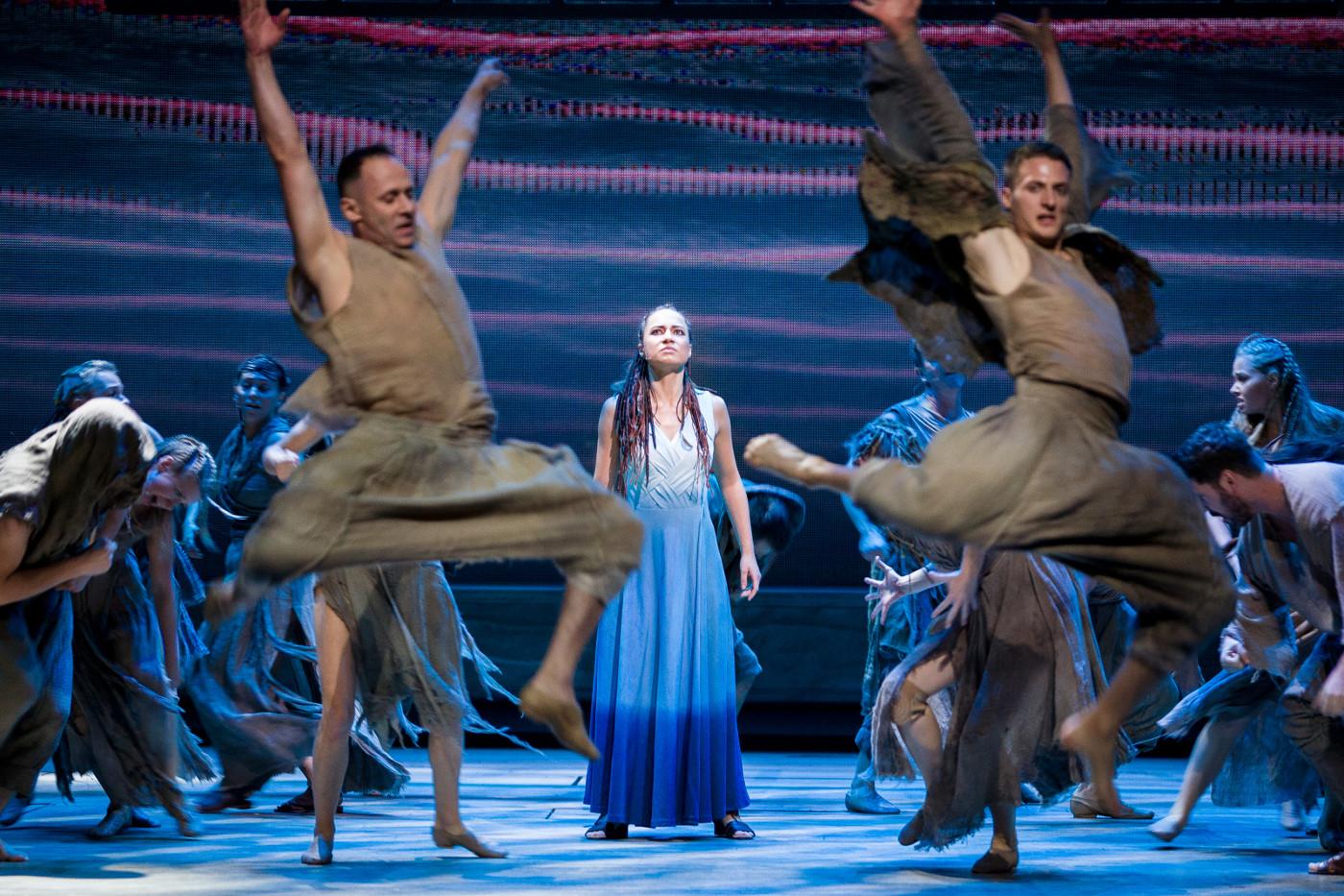 Aida w Teatrze Muzycznym Roma w Warszawie, 2019, fot. Maciej Lipski